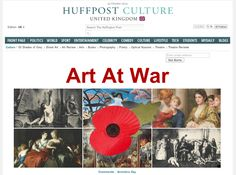 Art At War: Huffington Post UK Culture Splash