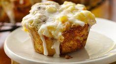 Enjoy a creamy fruit filling in every bite of these sweet breakfast treats.