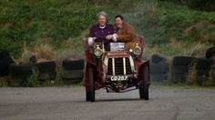 Mike Brewer and Edd China have been invited to bring a museum masterpiece up to running order again and hope to race it in the historic London to Brighton Ru. Wheeler Dealers, Edd, Antique Cars, The 100, Museum, Racing, China, Google, Vintage Cars