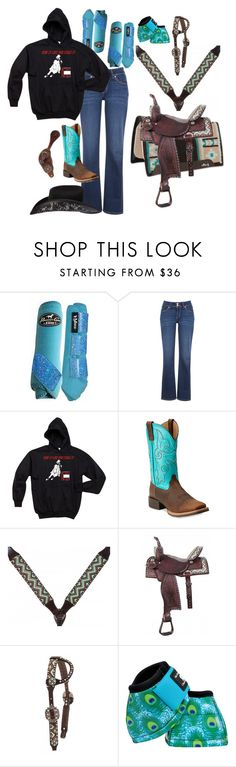 """""""SHOW SEASON STARTS BACK SOON"""" by horsy45 ❤ liked on Polyvore featuring Levi's and Ariat"""