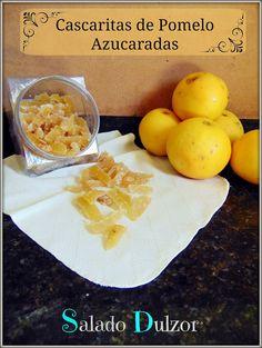 Salado Dulzor: Cascaritas de Pomelo Azucaradas