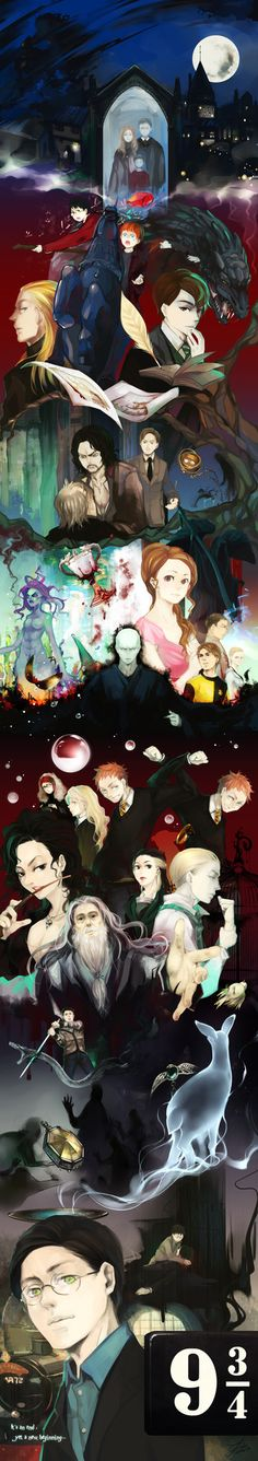 Anime summary of Harry potter. Brilliant. It is, but his hair looks to clean and not messy.