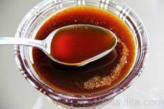 Miel de panela or miel de caña is a sweet syrup made from panela or piloncillo. It is used as a sweetener for drinks and also in a variety of Latin American desserts.