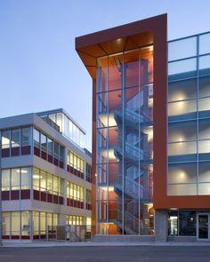 Helix #Architecture + #Design project Crossroads Parking Garage