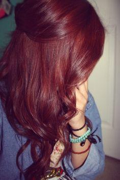 Rode haarkleur