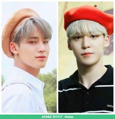 Idk if I am seeing things but I think Svt's Mingyu and Yunho looks like long lost giant bear brothe I Fainted, Birthday Week, Mingyu Seventeen, Give It To Me, Let It Be, How To Look Handsome, Ted Talks, My Brain