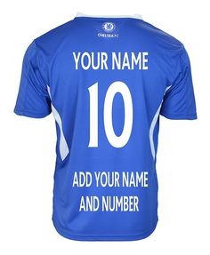 Chelsea FC Soccer Jersey Adult Men's * Add Any Name and Number T1H05 #RHINOX #Chelsea