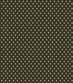 Waverly Upholstery Fabric-Prussian Dot Onyx