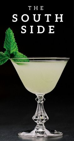 Despite its name, there are no geographical limitations for this gin cocktail. Despite its name, there are no geographical limitations for this gin cocktail. Try the South Side today. Fancy Drinks, Bar Drinks, Cocktail Drinks, Alcoholic Drinks, Beverages, Gin Cocktail Recipes, Bourbon Drinks, O Gin, Alcohol Drink Recipes