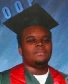 Michael Brown - he was off to college.