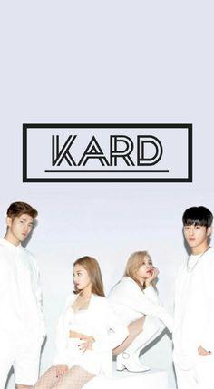 Papel de parede do grupo K.A.R.D ❤ Twice Wallpaper, Kard Bm, Kpop Backgrounds, Pop Stickers, Mileena, Dsp Media, Wall Paper Phone, Love K, Alphabet Symbols