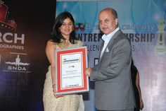 Ms. Apurva Purohit, CEO  Music Broadcast Pvt. Ltd.  (MBPL, popularly known as Radio City, 91.1 FM) Dhirubhai Ambani, Ratan Tata, Excellence Award, Entrepreneurship, Ms, Awards, City, Cities