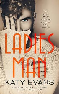 Ladies Man designed by James T. Egan of Bookfly Design | JF: The cosmopolitan font highlights the somewhat androgynous central figure. Perfectly in balance, this cover makes a strong statement. (Note that if you actually are a bestselling author, this is the way to say that on your cover: you have to be specific.) ★