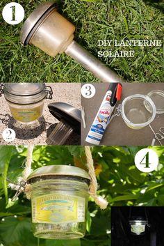 DIY Lanterne Solaire ⤿ Recyclage - Rose Philange
