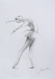 Buy from here Pencil Drawings, Art Drawings, Ballerina Drawing, Dancing Drawings, Ballet Art, Figure Sketching, Amazing Drawings, You Draw, Dance Art