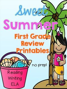 Review key first grade skills and get ready for second grade with these summer printables! Perfect for end of the year work, summer packets, tutoring, etc.! Everything is print and go to save you time. Skills Included:*Reading Comprehension to use with any book (book reports/story maps/fold, flip, and snip book)*Reading Fluency passages with close reading comprehension questions & sequencing*Summer Reading Log*Nouns*Verbs*Adjectives*Singular/Plural Nouns