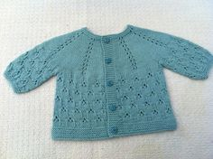 Ravelry: Project Gallery for Stems & Leaves, Baby Cardigan pattern by Rosangela Adoum