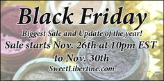 Our biggest sale and update of the year is happening next week! It starts on Thursday, November 26th at 10pm EST and will go through the weekend. There will be LOTS of eyeshadow colors making a return, plus the biggest saleof the year! Details on color releases and discounts will be released soon, so stay tuned.