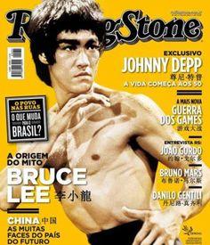 """Rolling Stone"" Brasil, Bruce Lee, 2013."