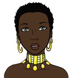 African Princess by CaptainHawkins.deviantart.com on @deviantART