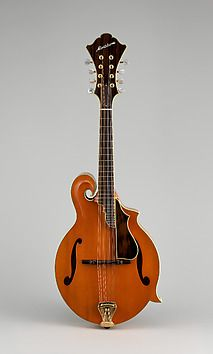 Mandolin by John Monteleone. A beautiful 2016 acquistions for The Metropolitan Museum of Art.