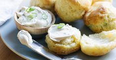 When homemade flaky goodness is this easy, you'll be tempted to make this recipe for Cream Cheese and Green Onion Biscuits every day.