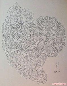 Crochet beautiful and delicate dress for a little girl. Free patterns for crochet dress Crochet Doily Diagram, Crochet Doily Patterns, Crochet Mandala, Crochet Chart, Thread Crochet, Filet Crochet, Crochet Motif, Crochet Doilies, Crochet Stitches