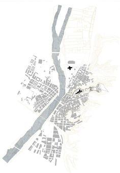 AB AB site plan University Campus In Tortosa / Ravetllat-Ribas Josep Ferrando site plan 01 – ArchDaily Architecture Drawing Plan, Architecture Mapping, Architecture Panel, Architecture Graphics, Architecture Diagrams, University Architecture, Landscape Elements, Landscape Plans, Landscape Design