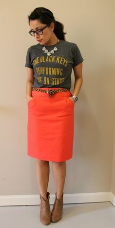 Trendy T-Shirt Rock Outfit Halsketten Ideen Diy Outfits, Skirt Outfits, Casual Outfits, Fashion Outfits, Steampunk Fashion, Gothic Fashion, T-shirt Rock, Casual Chic, School Looks