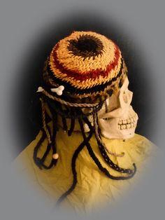 """Anlässlich deer Aktion """"Kunstraub Nr.6"""" mit dem Thema """"Afrikanische traditionelle Hauskunst""""(http://de.dawanda.com/topic/23/11126566?page=1) habe i..."""