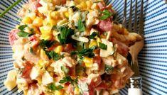 SAŁATKA SZWAJCARSKA – Zasmakuj Kuchni Aga, Potato Salad, Potatoes, Lunch, Impreza, Ethnic Recipes, Food, Potato, Eat Lunch