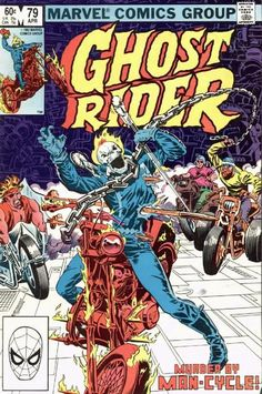 Cover for Ghost Rider (Marvel, 1973 series) #79 - April 1983