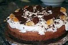 A light gluten free chocolate cake