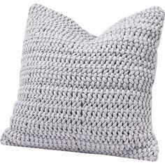 Coyuchi Organic Cotton Woven Rope Decorative Pillow, x Modern Throw Pillows, Throw Pillow Sets, Outdoor Throw Pillows, Pillow Talk, Boho Bedding, Modern Bedding, Pillow Texture, Perfect Pillow, Cotton Pillow
