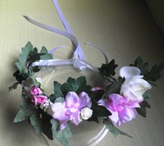 Coronta damita de honor. Decoracion  Floral Petty  Perez-Manglano