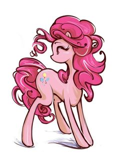 Pinkie pie art.