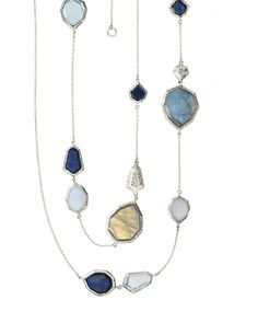 Lapis of Luxury Necklace | Jewelry by Silpada Designs Blue and Silver