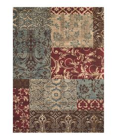 Take a look at this Cassandra Rug by Creative Floors: Rugs on #zulily today!