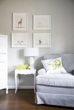 A set of Sharon Montrose prints adds playful charm to the nursery | domino.com