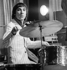 Keith Moon on stage in 1967