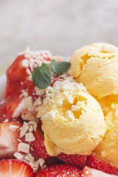 Zuckerfreies Vanilleeis (low carb), ohne Eismaschine | Low Carb Köstlichkeiten