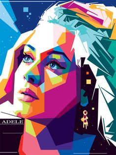 Adele's and our problem with unstoppable sadness - - Adele's and our problem with unstoppable sadness {Insert Cool Name} Adele's and our problem with unstoppable sadness – The Washington Post Art And Illustration, Portrait Illustration, Adele, Pop Art Portraits, Portrait Art, Arte Pop, Polygon Art, Pop Art Posters, Kunst Poster