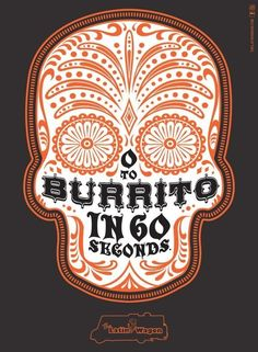 Latin Wagon: Burrito, Latin Wagon, Bohan, Latin Wagon, Print, Outdoor, Ads in Typography
