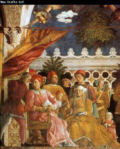 andrea mantegna | Andrea Mantegna The Court of Gonzaga