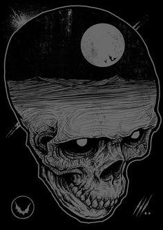 godmachine horror art
