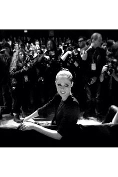 NY Fashion Week contada por las fashion insiders. La modelo Coco Rocha, en el front row de Hervé Leger.