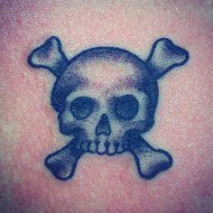 Pirate skull tattoo!!