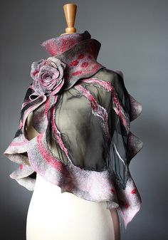 Felted scarf | Flickr - Photo Sharing!