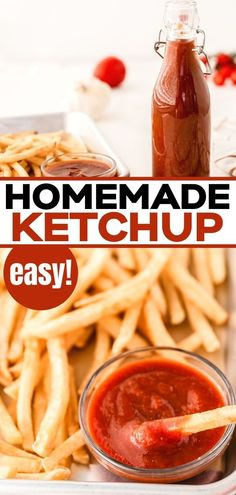 Learn how to make this easy homemade ketchup recipe. Delicious and ready in just 5 minutes this uses ingredients you probably already have in your store cupboard. This easy ketchup recipe is keto, low carb and sugar free. Low Carb Side Dishes, Healthy Side Dishes, Side Dish Recipes, Low Carb Recipes, Real Food Recipes, Homemade Ketchup Recipes, Homemade Seasonings, Sauce Recipes, Yummy Healthy Snacks