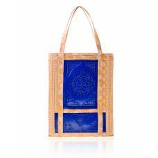 MeDusa Florence Tote Bag - Blue/Peach
